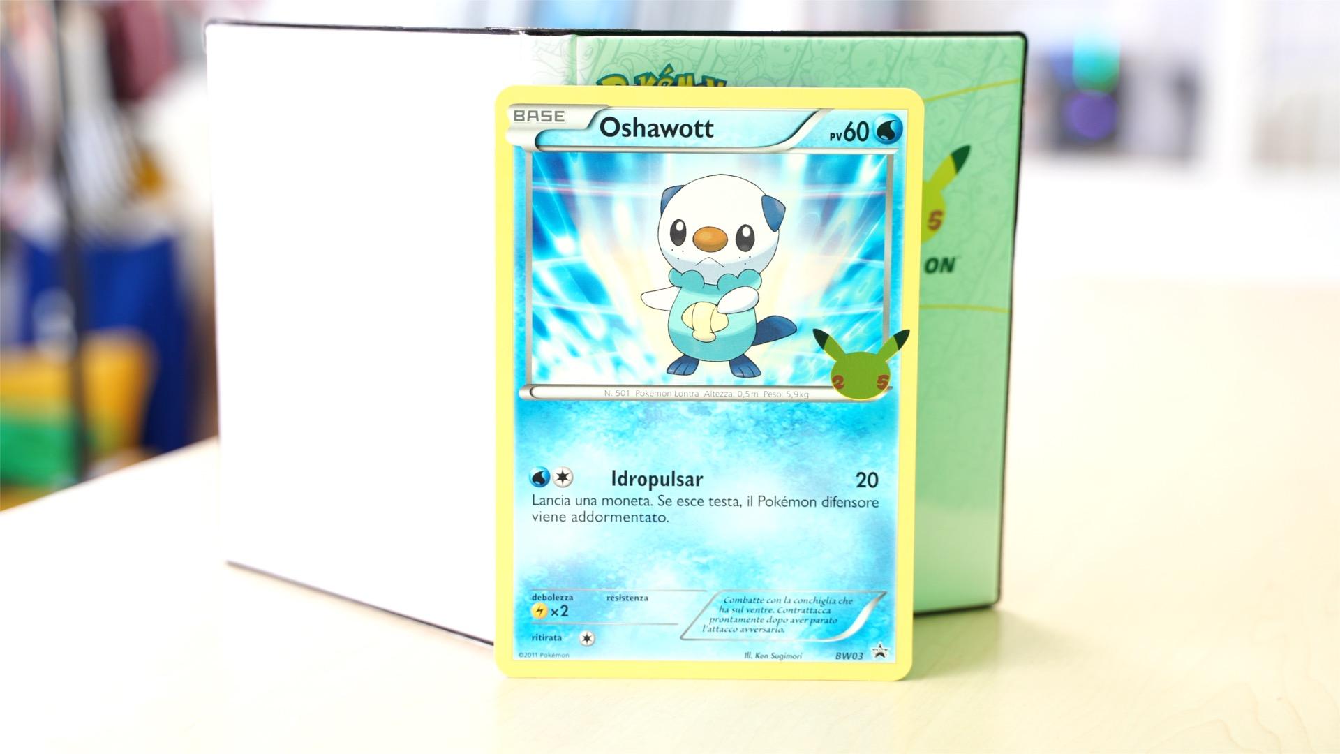 Oshawott Pokémon GCC