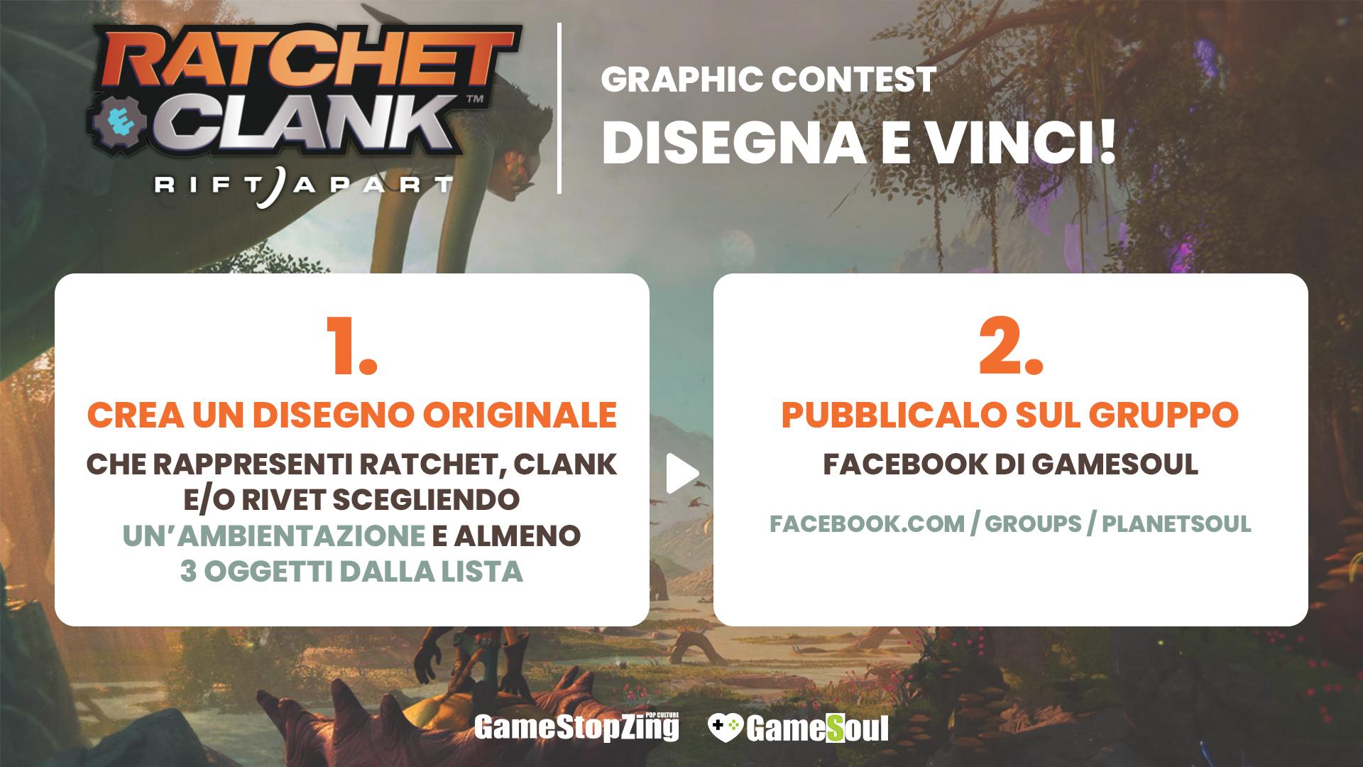 Ratchet & Clank: Rift Apart Graphic Contest, come partecipare