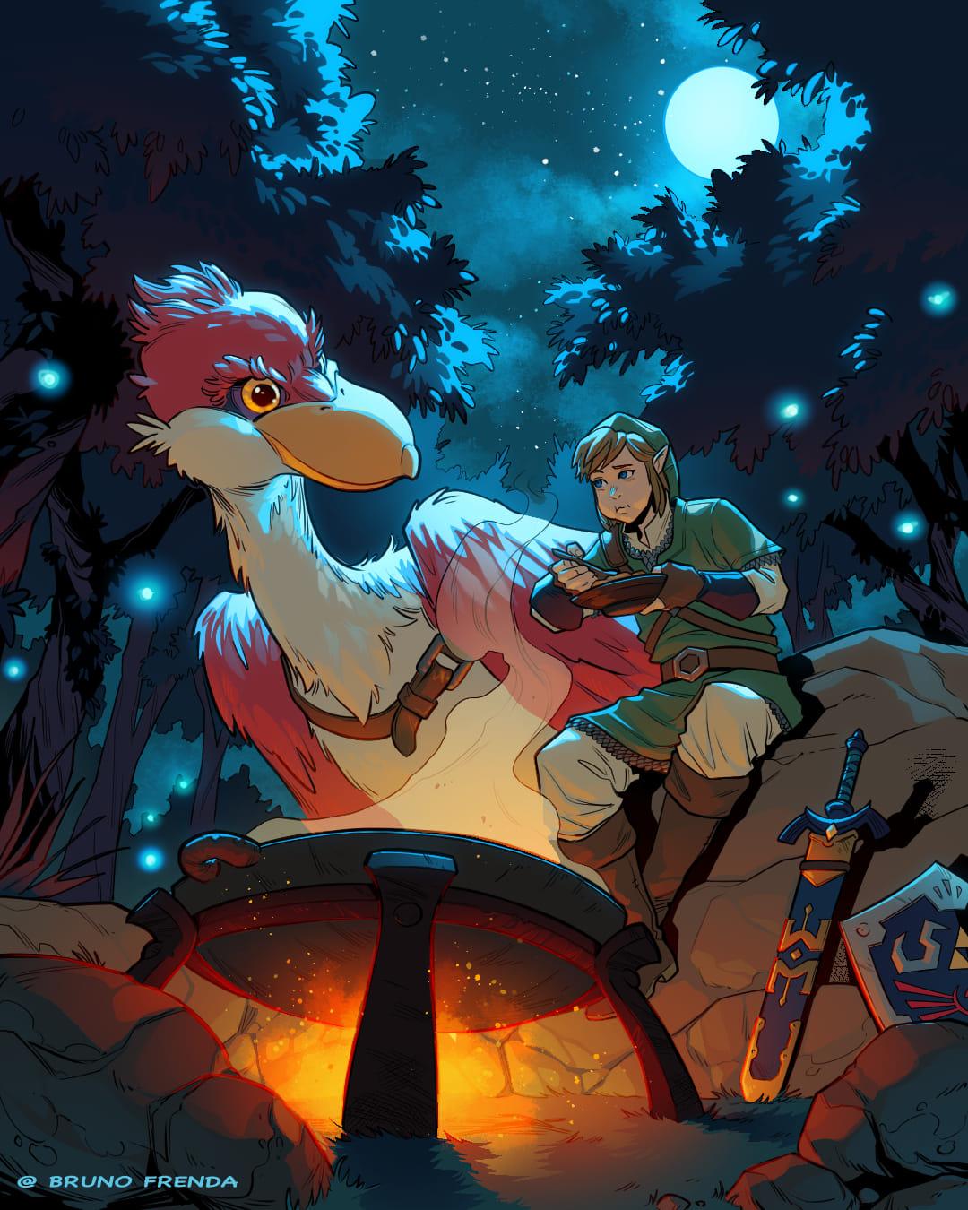 The Legend of Zelda: Skyward Sword - Primo posto: Bruno Frenda