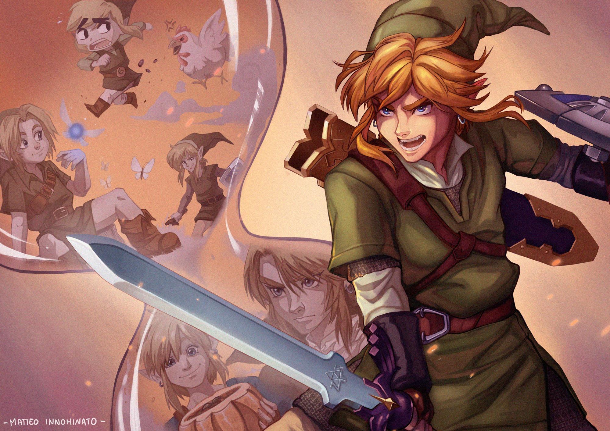 The Legend of Zelda: Skyward Sword - Terzo posto: Matteo Innominato