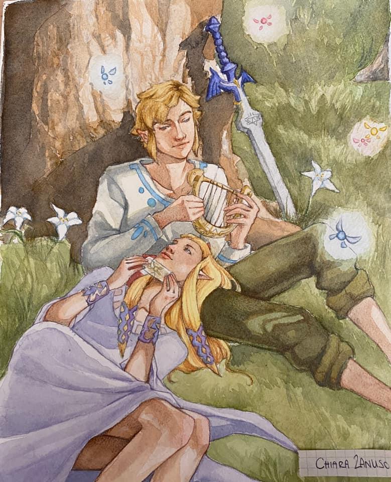 The Legend of Zelda: Skyward Sword - Secondo posto: Chiara Zanuso