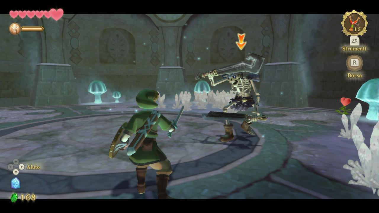 The Legend of Zelda Skyward Sword HD recensione