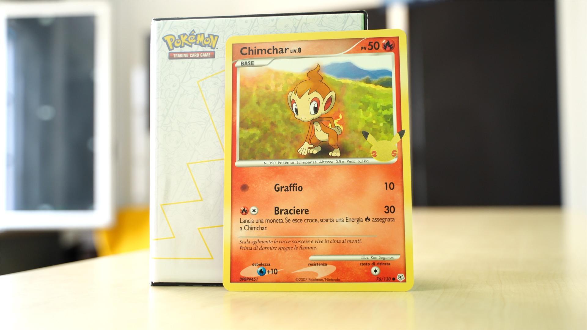 Chimchar Pokémon GCC