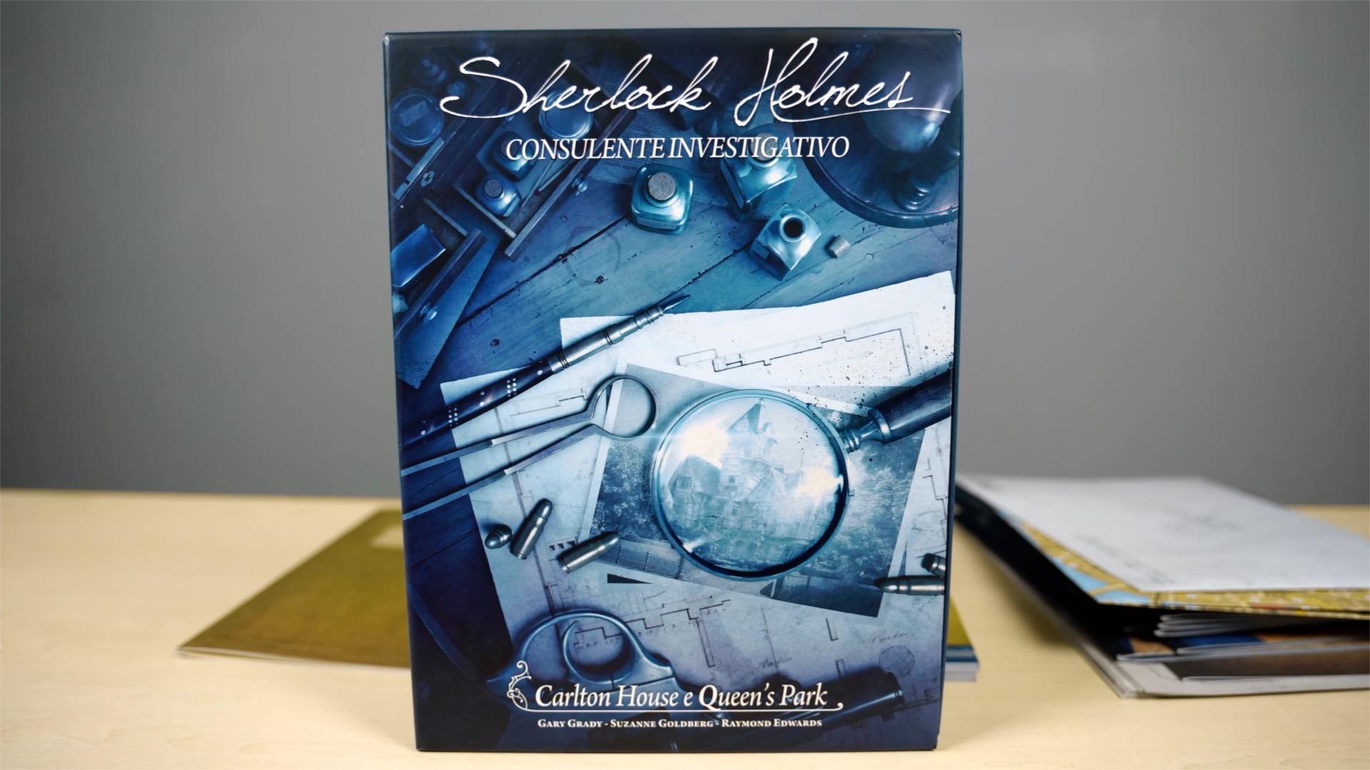 Sherlock Holmes Consulente investigativo Carlton House & Queen's Park