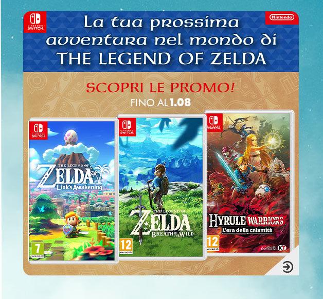 Scopri le promo del mondo di The Legend of Zelda
