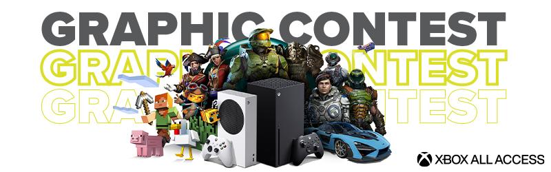 Partecipa al nostro graphic contest! In palio un'xbox Series X e un'Xbox Series S!