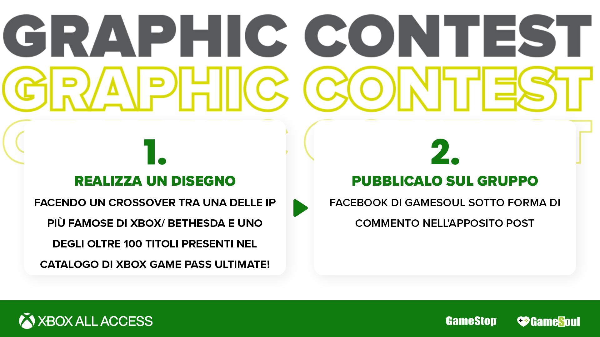 Graphic contest Xbox All Access