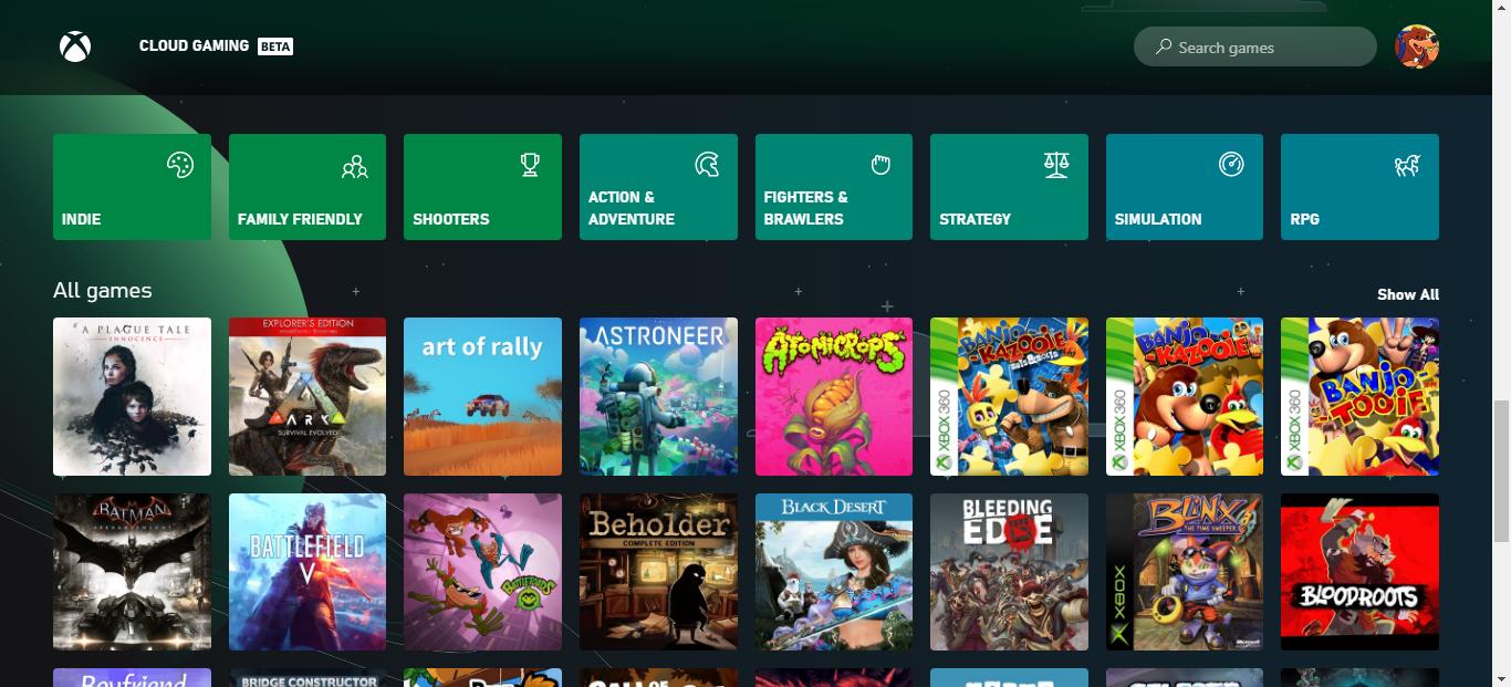Xbox Cloud Gaming provato