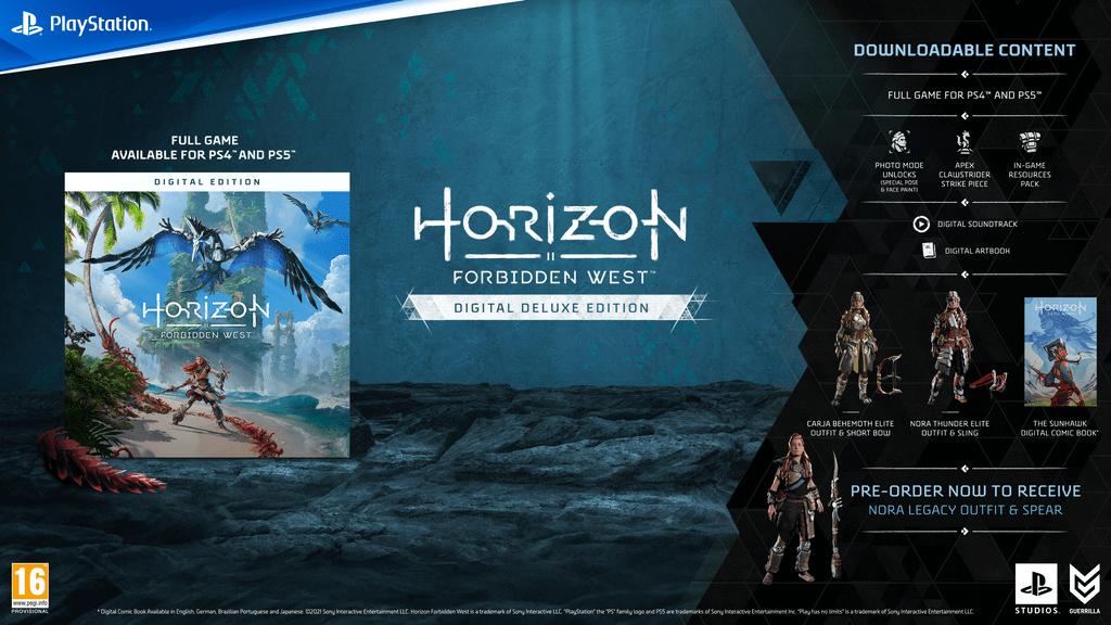 Horizon Forbidden West Digital Deluxe